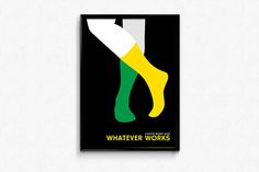 Woody Allen WHATEVER WORKS movie poster