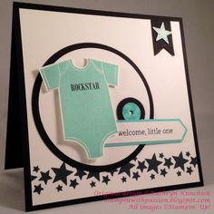 Rockstar Something for Baby Sneak Peek by TooManyCats - Cards and Paper Crafts at Splitcoaststampers