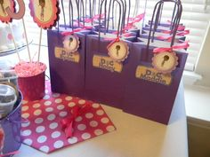 12 Toy Doctor Birthday Party Favor Thank You Tags. $10.00, via Etsy.