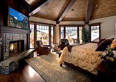 34 Awesome Master Bedroom Fireplace , Create your own collection of things you need to get shown in your home. You have your home beautifully staged. If your home feels like home, it's not. Winter Bedroom, Cozy Bedroom, Dream Bedroom, Bedroom Decor, Bedroom Ideas, Bedroom Photos, Bedroom Ceiling, Bedroom Neutral, Trendy Bedroom