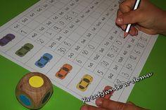 Kto pierwszy czyli nauka tabliczki mnożenia przez zabawę | Kreatywnie w domu