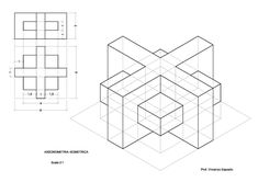 Form Drawing, Drawing Practice, Drawing Lessons, Drawing Techniques, Drawing Sketches, Isometric Drawing Exercises, Isometric Art, Graph Paper Drawings, My Drawings