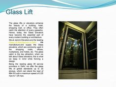 Jaimini Elevators- the leading lift manufacturer in Delhi. It has great expertise and experience in manufacturing and supplying the safe, secure and high quality lifts.
