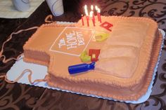 Apron Birthday Cake -- could easily convert this to a cooking apron