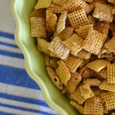 salted caramel chex mix