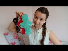 Using cloth menstrual pads at school - I don't know why I never thought of this. Eco-friendly, non-toxic, comfortable, cruelty-free, holy shit YES! And how wonderful is this young lady!!