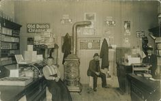 Margaret and James' Sanderson's store was located on the South side of Broadway, a early as 1911.