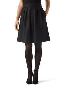 White House | Black Market Taffeta Skirt #whbm