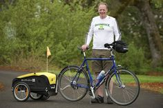 A school superintendent and member of the La Center Lions Club plans to cycle 3,500 miles across the country to raise money for Leader Dogs for the Blind. He will stay in the homes of Lions club members.