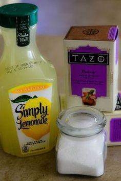 how to make starbucks passion tea lemonade