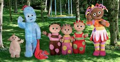 in the night garden characters - Google Search