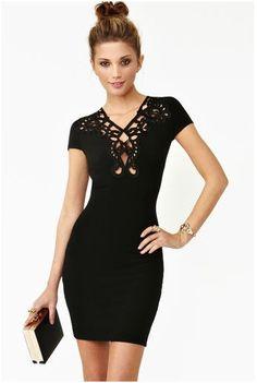 fall 2013 - NastyGal - New Romance Dress http://www.nastygal.com/clothes-dresses/new-romance-dress-black
