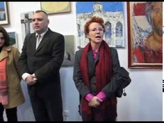 """Pași spre Lumină""; ""Steps to the Light"" ""Steps to the Light"", Winter Exhibition at Orizont Gallery in Bucharest:  23rd of December 2015- 10th of January 2016. Organizers: Association Branch of Religious Plastic Arts and Restoration : AFAPRR of UAP from Romania: Romanian Fine Arts Union. Orizont is a well known art gallery of the UAP from Romania: Romanian Fine Arts Union, in the center of Bucharest . A film produced by Claudiu Victor Gheorghiu."