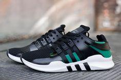 Мужские Adidas Equipment EQT RNG Guidance цвет: черный, белый, зеленый