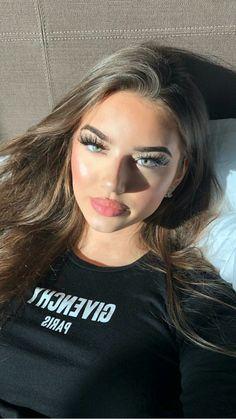 Cute Makeup, Glam Makeup, Beauty Makeup, Makeup Looks, Hair Makeup, Hair Beauty, Beauté Blonde, Balayage Hair Blonde, Brown Blonde Hair
