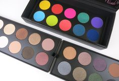 Make Up For Ever Artist Palette 30 Years. 30 Colors. 30 Artists  - Review and Swatches