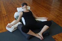 Oh how we love restorative yoga at www.thelifepod.com.au Restorative Yoga, Restoration, Normcore, Style, Fashion, Swag, Moda, Fashion Styles, Fasion