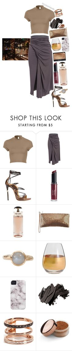 """Untitled #935"" by brooklynrebelle ❤ liked on Polyvore featuring Rick Owens Lilies, Dsquared2, Revlon, Prada, NARS Cosmetics, J. Furmani, Tamara Comolli, Marc Blackwell, Bobbi Brown Cosmetics and Nikos Koulis"