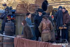 some more new photos of #CaitrionaBalfe #outlander at #dunure @OutlanderTVNews @OutlanderLocs @Outlanderfans