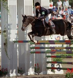Pierre Durand and Jappeloup  1988 Seoul Olympics Games