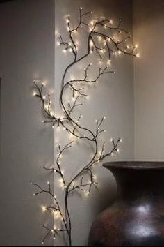 house tree Lighted Willow Tree Night Vine 8 Foot 144 Bulb Bend Limb Wall Branch Decor Twig for sale online Lighted Branches, Birch Branches, Willow Branches, Willow Tree, Tree Branch Decor, Twig Tree, 10 Tree, Twigs Decor, Decorating With Tree Branches