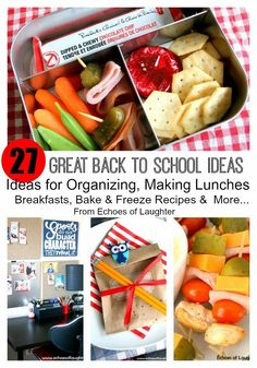 27 Amazing Back To School Ideas - Echoes of Laughter