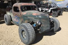 10 Reasons You Should Have Been At King of the Hammers - Four Wheeler Rat Rod Cars, Hot Rod Trucks, Cool Trucks, Cool Cars, Mad Max, Monster Car, Monster Trucks, Fallout, Rat Rod Build