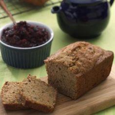 Zucchini-Walnut Loaf - EatingWell.com