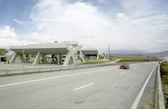 Paradas de Descanso en Carreteras Georgia / J. MAYER H. Architects Paradas de Descanso en Carreteras Georgia / J. MAYER H. Architects – Plataforma Arquitectura