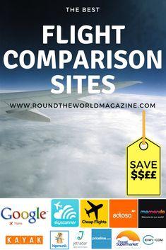 A list of the best Flight Comparison Sites