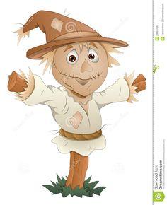 cartoon scarecrow oz - Google Search