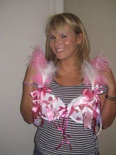 decorated bra idea