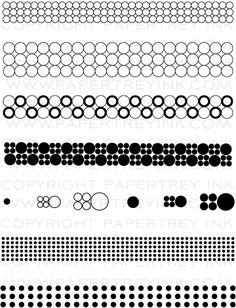 Background Basics: Circles Stamp Set