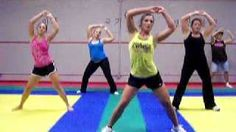 Zumba with Amber (Hotel Room by Pitbull), via YouTube. - Good Ab workout