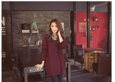 Autumn And Winter Loose Knitted Pullover 2015 New Hot Casual O-neck Long Sleeve Oversize Basic Sweater And Pullover Plus Size