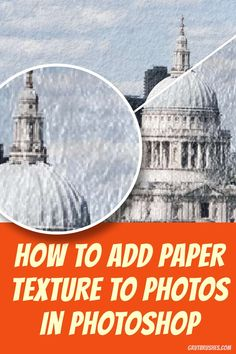 A two minute Photoshop tutorial on how to quickly add realistic paper textures to any photos by using Art Surfaces (digital papers) and their Smart Surface Layer Comps to change the look of the paper texture Digital Papers, Digital Art, Photoshop Texture, Photoshop Tutorial, Paper Texture, Surface, Ads, Change, Inspiration