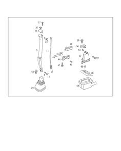 MERCEDES SPRINTER 208 D [901.311]: 26 GEARSHIFT MECHANISM: 060 FLOOR SHIFT,AUTOMATIC TRANSMISSION IL. 1