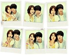 Heartstrings/You've Fallen For Me--today's the photo day! Lee Gyu Won (Park Shin Hye) and Lee Shin (Jung Yong Hwa) Smile! Park Shin Hye, Korean Celebrities, Korean Actors, Korean Dramas, Movie Couples, Cute Couples, Ver Drama, Kang Min Hyuk, Korean Shows