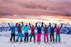 Girls Do Ski Freeski camps not only challenge you as a skier but you get to shred and be inspired by women all weekend Long! PC: Zoya Lynch