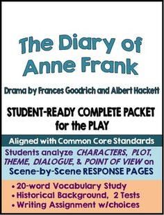 Diary of anne frank goodrich hackett