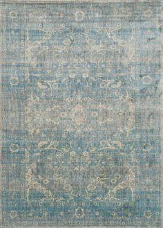 Anastasia Light Blue & Mist Area Rug