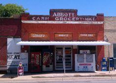 Abbott, Texas. Boyhood home of Willie Nelson