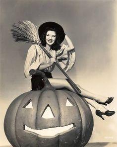 Vintage Halloween Witch Peggy Ryan