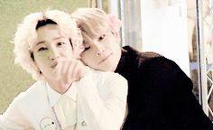 B-joo and Hansol (Topp Dogg)