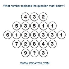 Can you solve this difficult IQ Catch puzzle? The IQ Catch