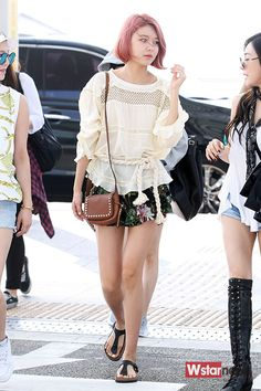 150610 Inchen Airport to Thailand for Music Video Filming SNSD Sooyoung