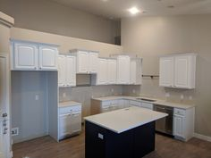 Kitchen refinished by Chameleon Painting SLC, UT in extra white and Benjamin moore old navy. Furniture, Refinishing Cabinets, Kitchen Refinishing, Kitchen Cabinets, Cabinet, Refinishing Furniture, Home Decor, Kitchen, Laundry Room Cabinets
