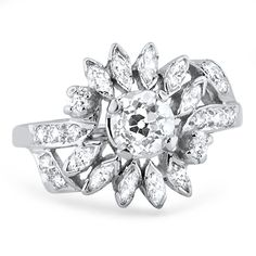 Antique engagement ring...The Ellery Ring from Brilliant Earth...reminds me of my grandmothers ring