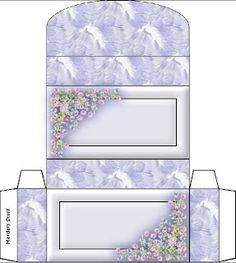 Varieté de Láminas para Decoupage: Cajitas listas para imprimir!