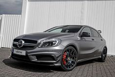 VÄTH tuning garage has introduced a new tuning program, for one of my favorite Mercedes cars on the market: the Mercedes AMG. In an effort to make the hot hatch look even better, the company offers various upgrades, such … Continue reading → Mercedes Benz A45 Amg, Die A, Cla 45 Amg, Mercedes Models, Audi, Benz A Class, Mercedez Benz, Daimler Ag, Upcoming Cars